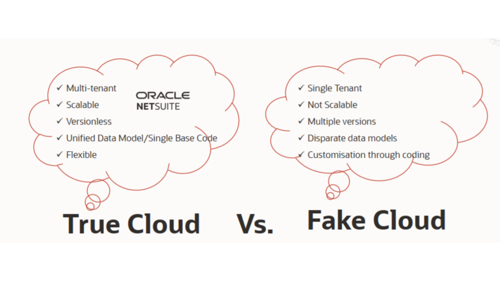 Oracle NetSuite - The only true cloud solution   M.SaaS